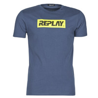 Vêtements Homme T-shirts manches courtes Replay LANOUE Marine