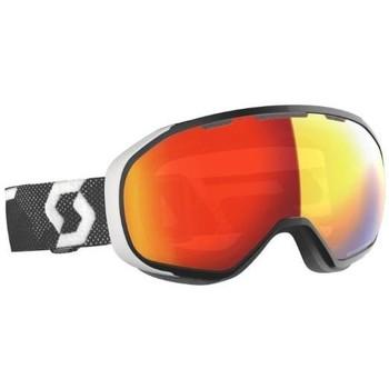 Accessoires Femme Accessoires sport Scott MASQUE  FIX LS BLACK/WHITE LIGHT SENSITIVE RED CHROME 2020 Unicolor