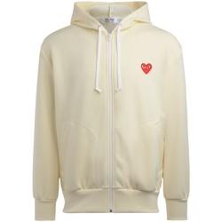 Vêtements Homme Sweats Comme Des Garcons Sweatshirt homme  ivoire avec coeur Blanc