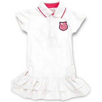 Vêtements Fille Robes courtes Miss Girly Robe FIPAPOLO blanc