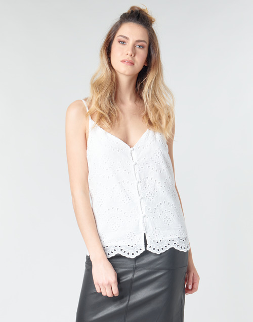 Vêtements Femme Tops / Blouses Betty London MINDO Blanc