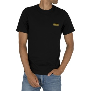 Vêtements Homme T-shirts manches courtes Barbour T-shirt petit logo noir