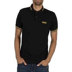 Vêtements Homme Polos manches courtes Barbour International Polo à pointe essentielle noir