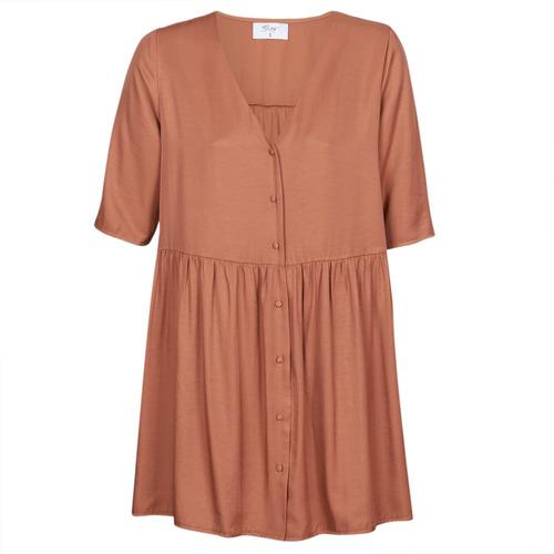 Vêtements Femme Robes courtes Betty London MOUDENE Marron