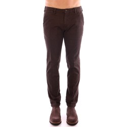 Vêtements Homme Chinos / Carrots 40weft LENNY 4597 marron