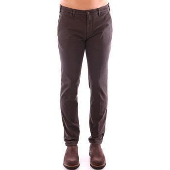 Vêtements Homme Chinos / Carrots 40weft LENNY 4600 marron