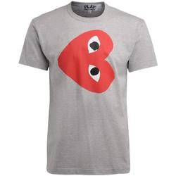 Vêtements Homme T-shirts manches courtes Comme Des Garcons T-Shirt homme  gris avec un coeur Gris