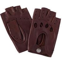 Accessoires textile Homme Gants Glove Story Gants cuir  ref_23664 307 TAN Marron