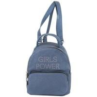 Sacs Femme Sacs à dos Girls Power Petit sac à dos  Star clou effet pailleté marine Multicolor