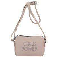 Sacs Femme Sacs Bandoulière Girls Power Petit sac  Star clouté et effet pailleté Rose Multicolor