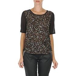 Vêtements Femme T-shirts manches courtes Vero Moda IXUS Noir