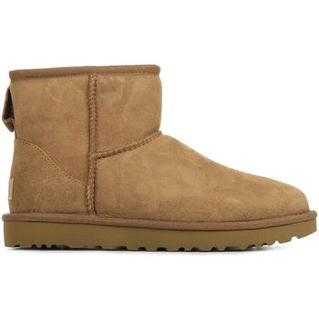 Chaussures Femme Bottes de neige UGG Classic Mini II marron