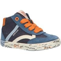 Chaussures Garçon Baskets montantes Geox B92A7E 01022 B KILWI Azul
