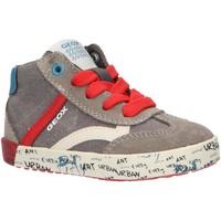 Chaussures Garçon Baskets montantes Geox B92A7E 01022 B KILWI Gris