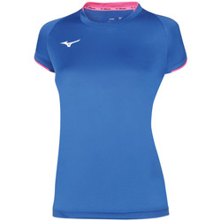 Vêtements Femme T-shirts manches courtes Mizuno Maillot  femme Core bleu royal/rose fluo