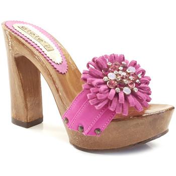 Chaussures Femme Mules Gioie Italiane G12078 Fuxia