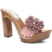 Chaussures Femme Sabots Gioie Italiane G12078 Rose