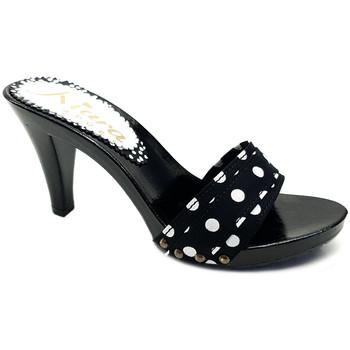 Chaussures Femme Mules Kiara Shoes K6501 Pois Noir