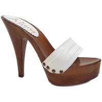 Chaussures Femme Mules Kiara Shoes K9101 Blanc