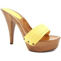 Chaussures Femme Mules Kiara Shoes K9101 Jaune
