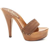 Chaussures Femme Mules Kiara Shoes K9101 Marron
