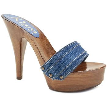 Chaussures Femme Mules Kiara Shoes K9101 Denim