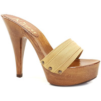 Chaussures Femme Mules Kiara Shoes K9101 Ocre