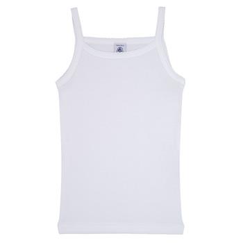 Vêtements Fille Débardeurs / T-shirts sans manche Petit Bateau 53295 Blanc