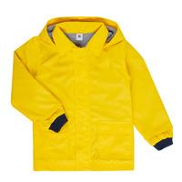 Vêtements Enfant Parkas Petit Bateau FATAH Jaune