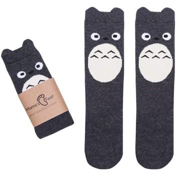 Accessoires textile Garçon Chaussettes Mama's Feet POLLY A HAPPY BIRD Gris foncé