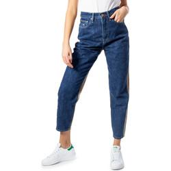 Vêtements Femme Jeans droit Tommy Hilfiger DW0DW07690 bleu