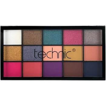 Beauté Femme Palettes maquillage yeux Technic Vacay Palette 15 fards à paupières   21,9g Multicolore