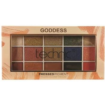 Beauté Femme Palettes maquillage yeux Technic Goddess Palette 15 fards à paupières   21,9g Doré