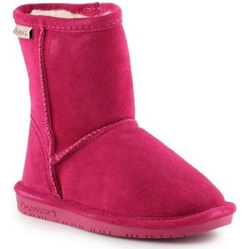 Chaussures Fille Bottes de neige Bearpaw Emma Toddler Zipper 608TZ-671 Pom Berry różowy