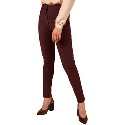 Vêtements Femme Chinos / Carrots Frnch Pantalon slim à coupe droite PATSIE Prune