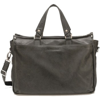 Sacs Homme Porte-Documents / Serviettes Arthur & Aston Porte document Arthur et Aston en cuir ref_48031 D Noir