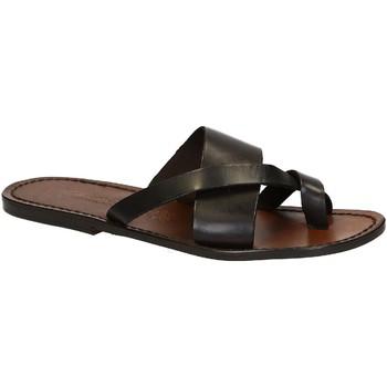 Chaussures Homme Sandales et Nu-pieds Gianluca - L'artigiano Del Cuoio 545 U MORO CUOIO Testa di Moro