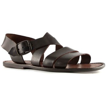 Chaussures Homme Sandales et Nu-pieds Gianluca - L'artigiano Del Cuoio 508 U MORO CUOIO Testa di Moro