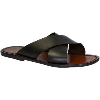 Chaussures Homme Mules Gianluca - L'artigiano Del Cuoio 560 U MORO CUOIO Testa di Moro