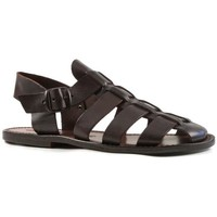 Chaussures Homme Sandales et Nu-pieds Gianluca - L'artigiano Del Cuoio 502 U MORO CUOIO Testa di Moro
