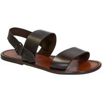 Chaussures Homme Sandales et Nu-pieds Gianluca - L'artigiano Del Cuoio 500 U MORO CUOIO Testa di Moro