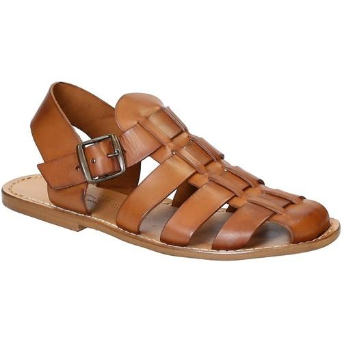Chaussures Homme Sandales et Nu-pieds Gianluca - L'artigiano Del Cuoio 502 U CUOIO CUOIO Cuoio