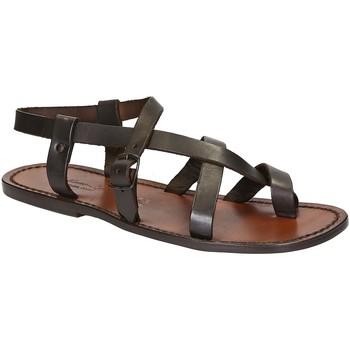 Chaussures Homme Sandales et Nu-pieds Gianluca - L'artigiano Del Cuoio 530 U MORO CUOIO Testa di Moro