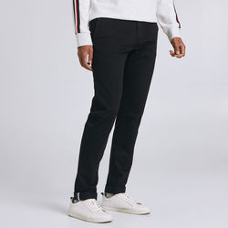 Vêtements Homme Chinos / Carrots Jules Chino coupe slim sasha Noir Lg 30