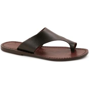Chaussures Homme Mules Gianluca - L'artigiano Del Cuoio 521 D MORO CUOIO Testa di Moro