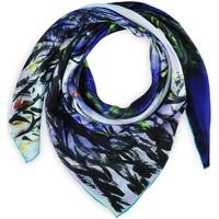 Accessoires textile Femme Echarpes / Etoles / Foulards Silkart Carré de soie - Nymphéas et saules Bleu