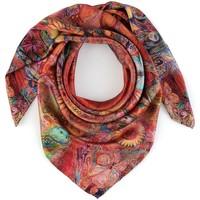 Accessoires textile Femme Echarpes / Etoles / Foulards Allée Du Foulard Carré de soie Premium Vahala rouge