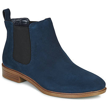 Chaussures Femme Boots Clarks TAYLOR SHINE Marine