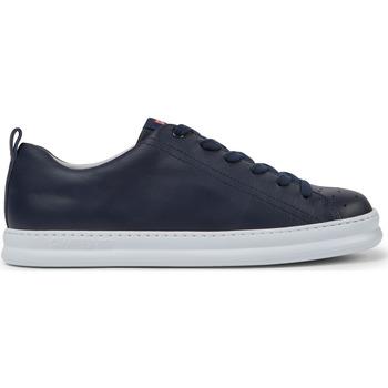 Chaussures Homme Baskets basses Camper Baskets cuir Runner Four bleu