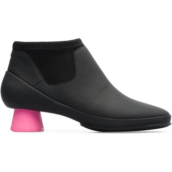Chaussures Femme Bottines Camper Bottines à talon cuir Alright noir